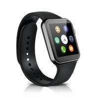 apple lcd monitors - A9 Bluetooth Smart Watch Phone quot LCD touch Screen Smartwatch Wrist Watch A9 Watch for Apple and Android System Heart Rate Monitor