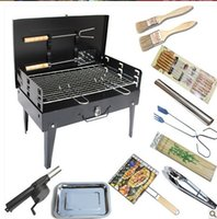 Wholesale Wild by a portable outdoor grill outdoor grill charcoal barbecue tools household goods full suit