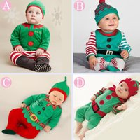 bebe retail - 2016 fashion Retail New baby romper baby christmas costumes Spring autumn hat roupas de bebe