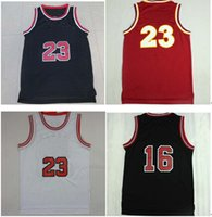 Wholesale embroidered Basketball Jerseys Retro Wears Clothing Basketball jerseys T shirt Jerseys Allow mixed order Top quality sizes
