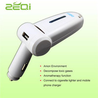 air freshener for car - White Car Oxygenation Bar Competitive DC V Input Car Freshener for Cleaning Air Plastic Material Car Charger Function for Sale