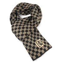 Wholesale 2014 New DQ Letter plaid printing Cashmere imitation Scarves Wraps Neckchieves Hot Sale Scarf neckerchief for man men