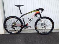 Wholesale Whosale LOOK mtb bike carbon mountain bicycle frame ER with stem mtb frame carbon k mtb frameset red yellow black