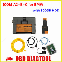 auto sales software - 2015 For BMW ICOM A2 with hdd Icom a2 Auto ISIS ISID A B C With auto ICOM Software ISTA ISTA Hot Sales DHL Free