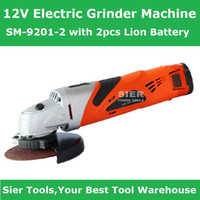 Wholesale 12V Power Tools V Electric Grinder Machine SM with Lion Battery Sier Angle Grinder CE GS Grinder Machine Electric Grinder