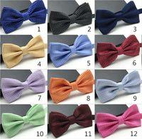 Wholesale Cheap Unisex Neck Bowtie Men s Fashion Pure Bow Tie Adjustable High Quality Wedding Party Groom Tie Accessories