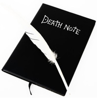 anime records - 10pcs Japan Anime Death Note Fashion Cosplay Notebook Feather Pen Writing Journal Anime Theme Diary Record