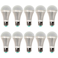 Wholesale 5W W W W W E26 E27 Globe Led bulb light Energy Saving Led Bulb Bright White Drop Shipping