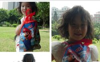 Wholesale 20 designs children non woven drawstring bags frozen beach bag children s school bags
