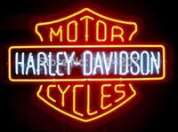 Wholesale FS Neon Sign Motor Cycles Handcrafted Real Glass Neon Light Sign Beerbar Sign Neon Beer Sign x15 Super Bright Best Offer