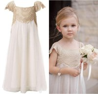 Girls Occasion Dresses Lace Gold Price Comparison  Buy Cheapest ...