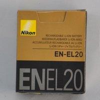 Wholesale 1020mAh EN EL20 EL20 Rechargeble Digital Camera Battery For NIKON EL20a MH MH Coolpix A AW1 J1 J2 J3 S1 V3 retail box
