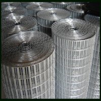 Wholesale Factory Supply Electro Galvanized Square Wire Mesh Welded Galvanized Wire Material With Welding Point quot