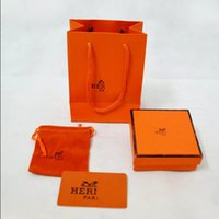 Wholesale Jewelry gift packaging set bracelet gift packaging set in1 set paper bag box pouch certificate