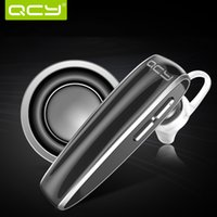 Wholesale QCY Q13 Bluetooth Headset Wireless Stereo Bluetooth Headphones Earphone for iPhone Sports Wireless Voice Headset