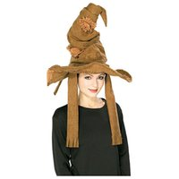Wholesale good quality Hot new magic school Harry Potter Sorting Hat brown cosplay accessories masquerade Halloween props