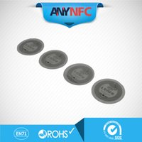 Wholesale NFC Tag for Samsung Galaxy S4 GS4 NTAG203 compatible with all others nfc android phone Free Shiipping