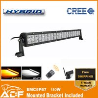 Wholesale Remote Control LED Light Bar Inch Wireless Double Row Offroad Cree LED Straight Light Bar W High Power ADF W L3CR CR