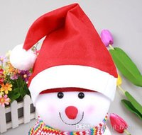 Wholesale Hot Sale Christmas Clothing Christmas Hat Non Woven Christmas Hats Christmas Supplies Drop Shipping