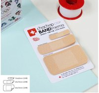 band aid memo - Freeshipping New Fashion Cute Creative Band Aid type Notepad Band Memo Note pads Memo Memo Pads Writing scratch pad dandys