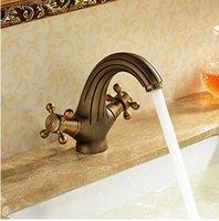 antique brass bathroom faucet - Bathroom Sink Faucet Antique Inspired Design Antique Brass Finish Faucet