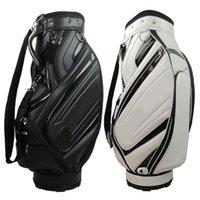 PU Cart Bags Male New Tay golf bags black.white golf bag