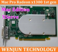 Wholesale by DHL EMS Genuine for Mac Pro Edition Radeon X1300 mb Video Card For XServe MacPro1 order lt no track