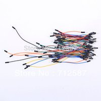 Wholesale 65pcs Jump Wire Male to Male Jumper Wire for Arduino Breadboard