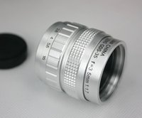 Wholesale Silver mm f CCTV Lens for m43 ep2 gf1 gh1 C mount to Micro m4 Macro Ring