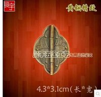 antique copper hinges - The bat Chinese antique jewelry box copper hinges hinge small rocking bark CYF230 long CM