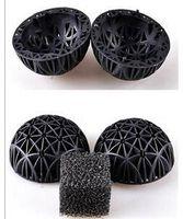 ball canister - 20pcs pack Black Aquariums Accessories mm Biological Bio Balls Aquarium Pond Fish Nano Tank Wet Dry Canister Filter Media