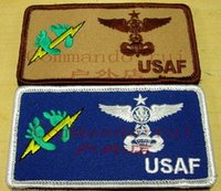 air force names - Air Force rescue team USAF PJ blank name tag badge armband velcro