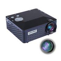 Wholesale Mini LED Proyector Lumen HDMI HD Portable Pico Projektor Theater Projector AV VGA SD USB HDMI Video Beamer Games Projetor