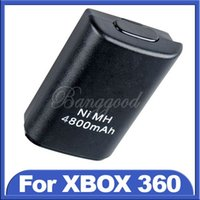 Wholesale Hot Sale Black mAh Ni MH USB Rechargeable Battery For Xbox Wireless Controller Console