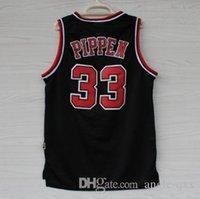 chicago bull - Bulls Black Scottie Pippen Basketball Jersey Chicago Man Sportwear Top Quality Cheap Hot Sale