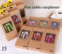 Wholesale Original mm In Ear Earphone Music Dj Headset with MIC Volume Control headphone for Samsung Galaxy S4 S5 S3 S6 with retail package
