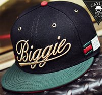 hat box - 2015 Biggie CAYLER SONS Snapbacks Adjustable Baseball Cap Men Women Bone Chapeu Snap back Gorras Swag Cap Casquette Hats Ship By Box