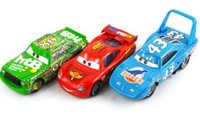 Wholesale 3Pcs Set Original Cars Pixar Diecast Models Vehicles Kids Toys Car Toys For Children The King Mcque HTB