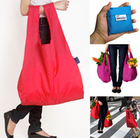 Wholesale Shopping bags environmental protection folding storage portable sundries bags creative household storage items