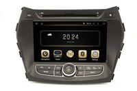 hyundai ix45 - Android Car DVD Player for Hyundai IX45 Santa Fe with GPS Navigation Radio Bluetooth AUX USB Audio Stereo WIFI