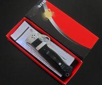 knives free shipping - New Arrival Spyderco C149GP Folding Knife S30V blade G10 Handles pocket kinife gift kinife strider
