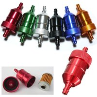 Wholesale Brand New High Quality Aluminum Petrol Fuel Gas Filter quot mm For Motorcycle Accessories