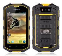 waterproof cell phone - Original Hummer H5 real IP67 dustproof waterproof Android WCDMA G Smart Phone Shockproof GPS inch ips outdoor cell phones