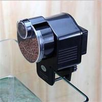 Wholesale High Quality New Adjustable LCD Automatic Aquarium Timer Auto Fish Tank Pond Food Feeder Feeding