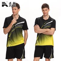Wholesale Family fitted Badminton jerseys Table Tennis Clothing suit Tennis sportwear Plus Size