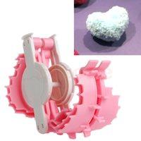 baby weavers - Heart Shape Pom Pom Maker Fluff Ball Weaver Baby Knitting Craf Tool Small mm