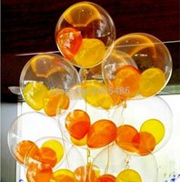 balloon blast - transparent balloon inch transparent ball blasting latex balloon transparent clear