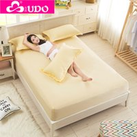 Wholesale Cotton Reactive Printing Bed Mattress Protector Cover Bed Fitted Sheet Queen Size Colors VM003