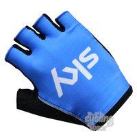El Tour de Francia Equipos Edición SKY guantes de ciclo de la bicicleta Guantes guantes de ciclismo MTB medio dedo guantes de carreras de bicicleta de carretera