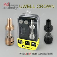 Wholesale 100 Original uwell crown tank gold tanks for pioneer4you ipv8 ipv x hcigar vt167 wismec dna200 dna250 lost vape skar dan75 mod